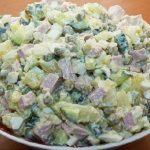 Интересные рецепты салата оливье
