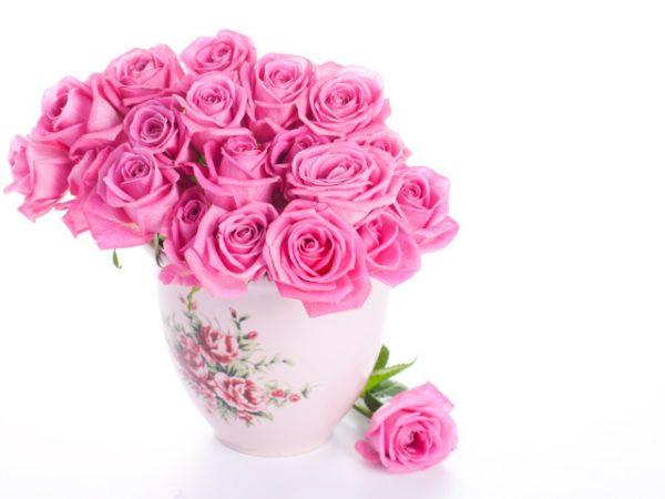 Розы в вазе - как сохранить надолго