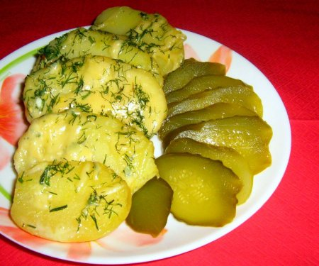 картофель в молочном соусе с сыром Декоративные краски