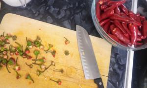 Базовый китайский острый соус — подробный рецепт